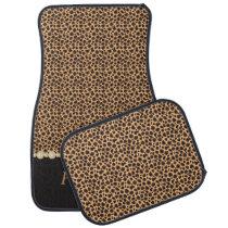 Stylish Cheetah Diamond Pattern | Personalize Car Mat