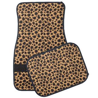 Stylish Cheetah Pattern | Personalize Floor Mat