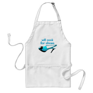 Stylish Chef Loves High Heels Shoes Adult Apron