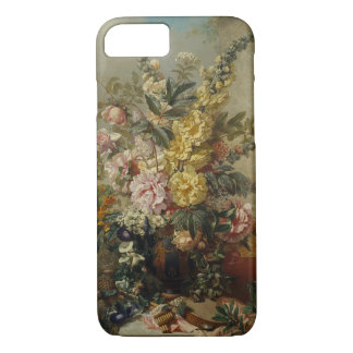 Stylish Chic Antique Floral Still Life Painting iPhone 8/7 Case