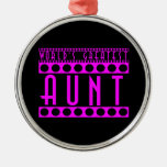 Stylish Chic Gifts for Aunts World's Greatest Aunt Christmas Tree Ornament