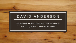 Wood grain business cards templates zazzle stylish chic wood grain woodgrain look magnetic business card reheart Gallery
