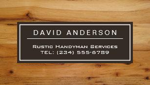 Wood grain business cards templates zazzle stylish chic wood grain woodgrain look magnetic business card colourmoves