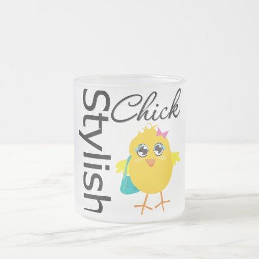 Stylish Chick 2 Mugs