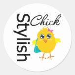 Stylish Chick 2 Stickers