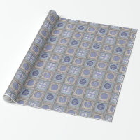 Stylish Christmas Personalized Wrapping Paper 1