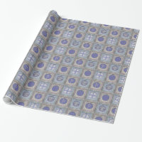 Stylish Christmas Personalized Wrapping Paper 2