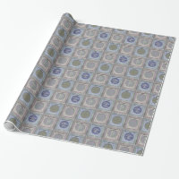 Stylish Christmas Personalized Wrapping Paper 3