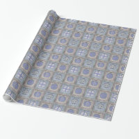 Stylish Christmas Personalized Wrapping Paper 4