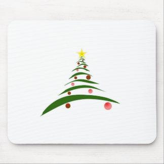 Stylish Christmas Tree Mouse Pad