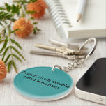 """Stylish circle double sided keychain<br><div class=""""desc"""">Stylish circle double sided keychain in store. Shop now thank you!</div>"""