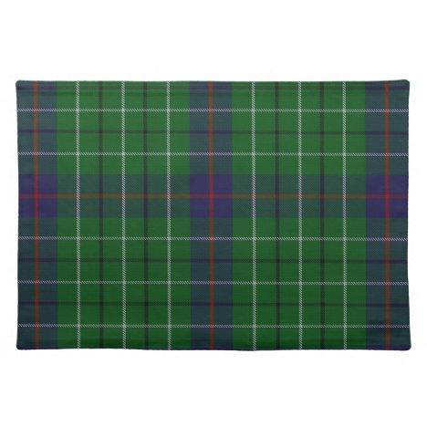 Stylish Clan Duncan Tartan Plaid Place Mat