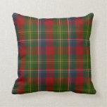 Stylish Clan Forrester Tartan Plaid Pillow
