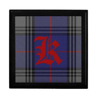 Stylish Clan Kinnaird Monogram Keepsake Box