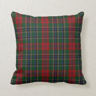 Stylish Clan MacLean Tartan Plaid Pillow