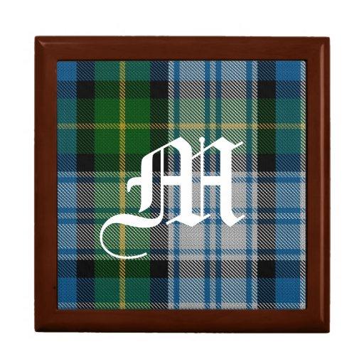 Stylish Clan MacNeil Monogram Keepsake Box