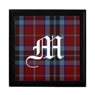 Stylish Clan MacTavish Monogram Keepsake Box