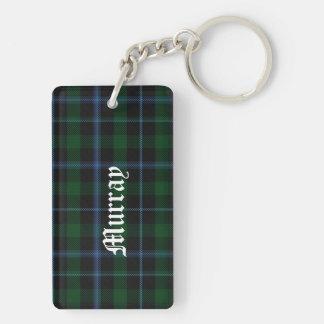 Stylish Clan Murray Tartan Plaid Key Chain