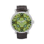 Stylish colorful Abstract Pattern Wrist Watch