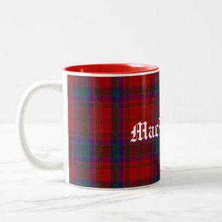 Stylish Colorful Clan MacDougall Tartan Plaid Mug