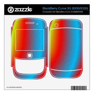 Stylish colorful pattern BlackBerry decal