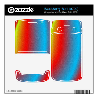 Stylish colorful pattern decal for BlackBerry bold