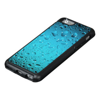 Stylish Cool Blue water drops OtterBox iPhone 6/6s Case