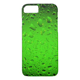 Stylish Cool green water drops iPhone 7 case