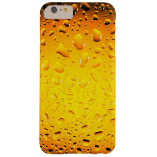 Stylish Cool Yellow water drops iPhone 6 Plus Barely There iPhone 6 Plus Case