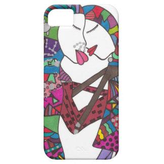 Stylish couple on iphone case