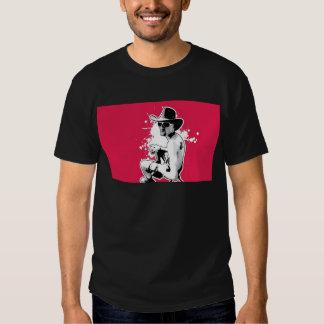Stylish cowboy man tee shirt