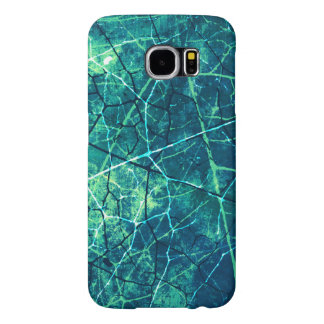 Stylish Crackled Lacquer Grunge Texture Samsung Galaxy S6 Case