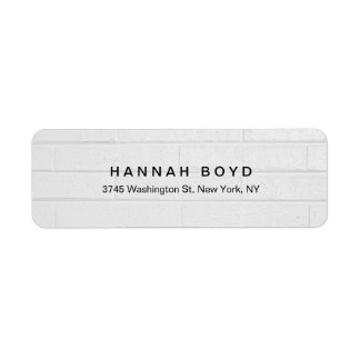 Stylish Creative Grey Wall Modern Professional Label