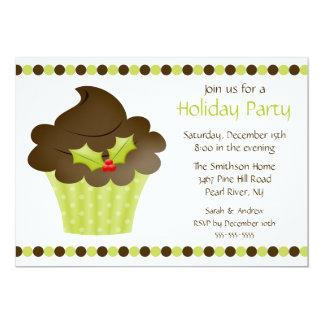 Stylish Cupcake Holiday Party Invitation
