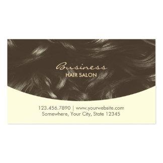 Stylish Curly Hair Beauty & Hair Salon Appointment Business Card