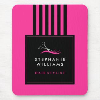 Stylish Customizable Hair Stylist Mousepad