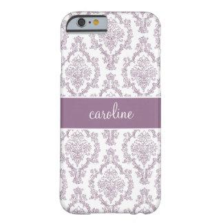 Stylish Damask iPhone 6 case (Purple)