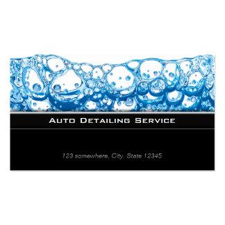 Stylish Dark Auto Detailing Business Card