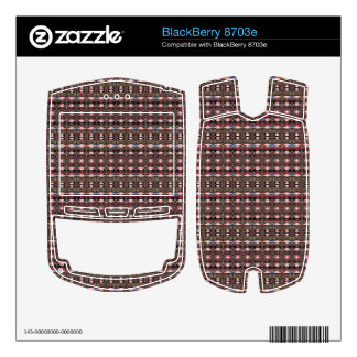 stylish deco pattern BlackBerry 8703e decals