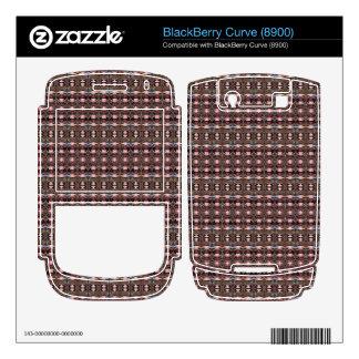 stylish deco pattern BlackBerry curve decals
