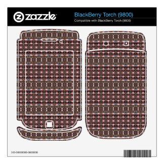 stylish deco pattern BlackBerry decals