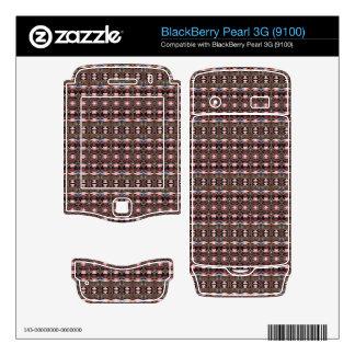 stylish deco pattern BlackBerry pearl skin