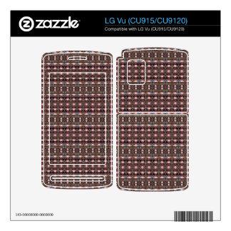 stylish deco pattern LG vu decals