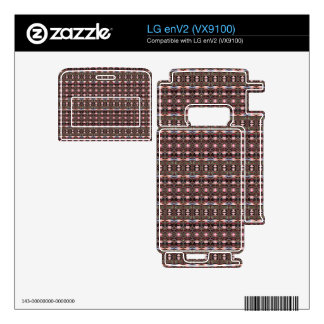 stylish deco pattern LG enV2 skins