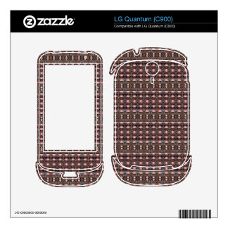 stylish deco pattern decal for LG quantum