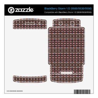 stylish deco pattern skin for BlackBerry storm