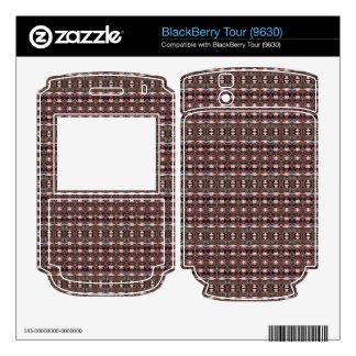 stylish deco pattern skins for BlackBerry