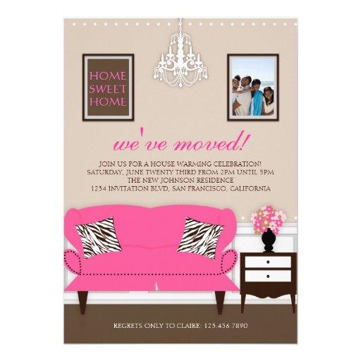 Stylish Decor Housewarming Invite