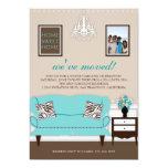 "Stylish Decor Housewarming Invite 5"" X 7"" Invitation Card"