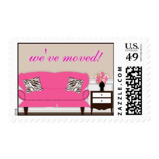 Stylish Decor Housewarming Stamp